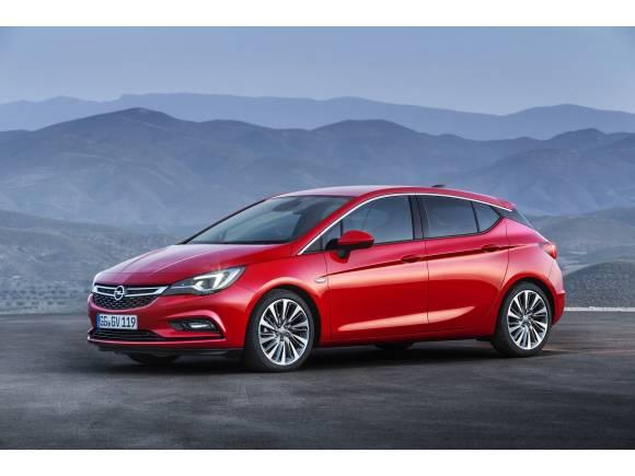 Nuevo Opel Astra: hasta 200 kg más ligero y máxima conectividad