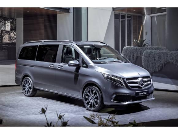 Nuevo Mercedes-Benz Clase V 2019, con nuevo motor