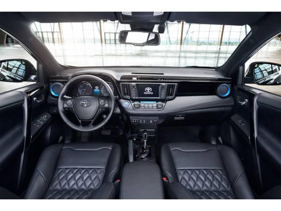 Toyota RAV4 hybrid Sapphire, más exclusivo