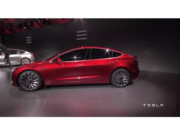"""Tesla Model 3: el coche eléctrico """"popular"""""""