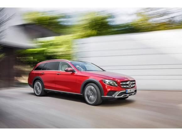 Mercedes expande su gama: nuevo Clase E All-Terrain