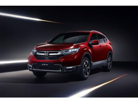 Nuevo Honda CR-V 2018, 7 plazas e híbrido