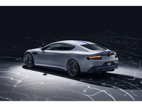 Nuevo Rapide E, así será el primer eléctrico de Aston Martin