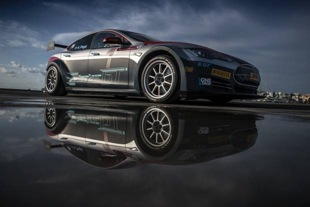 Tesla Model S P100D: listo para competir en las Electric GT Racing series
