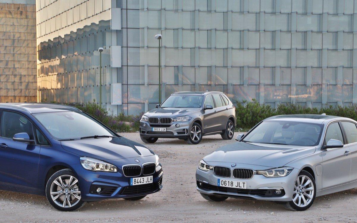Gama BMW hibridos