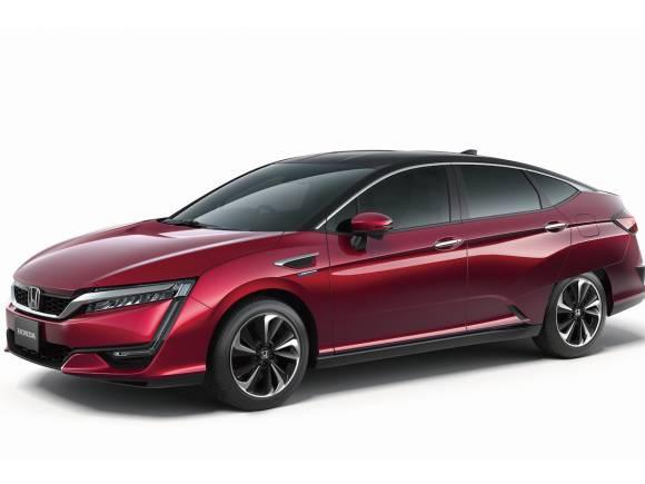 Honda lanza un coche de pila de combustible en Tokio