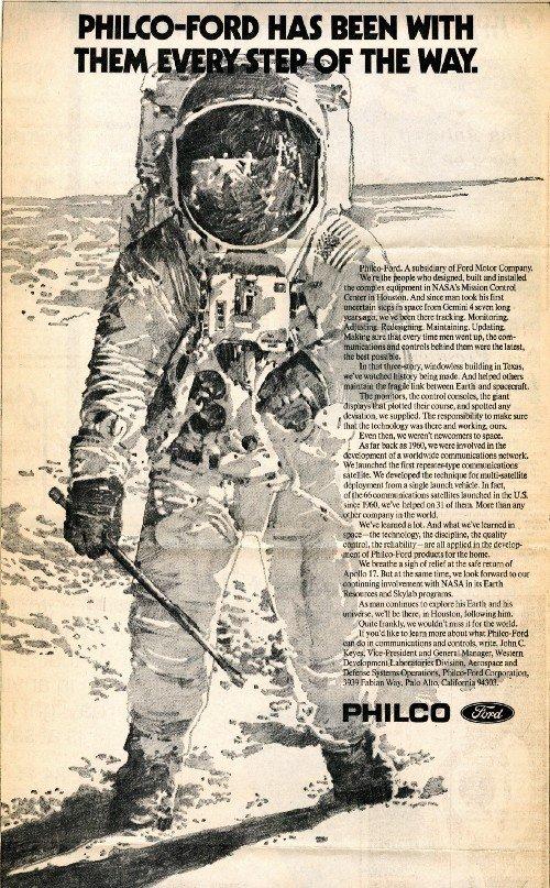Ford viaje a la luna