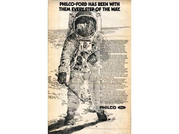 Cómo Ford participó en la llegada del hombre a la luna