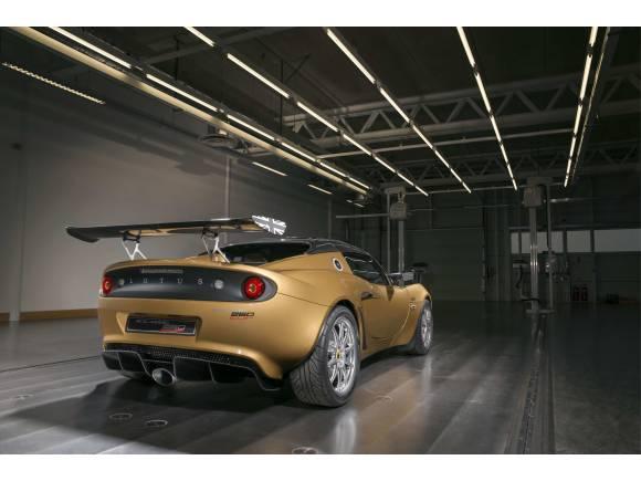 Nuevo Lotus Elise 260 Cup, a 100 km/h en 3,8 segundos