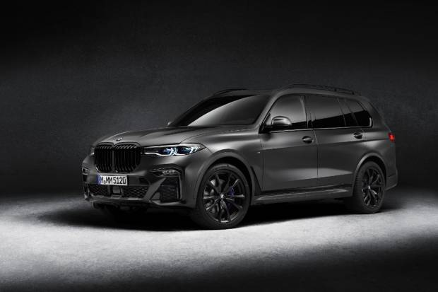 BMW X7 Dark Shadow Edition: edición limitada de gala