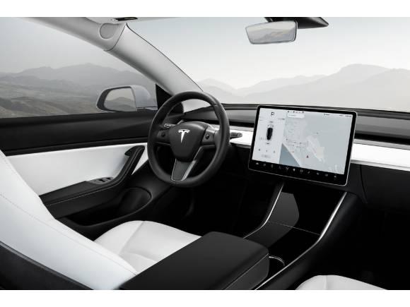 Tesla prepara un restyling para su Model 3: tendrá un nuevo interior
