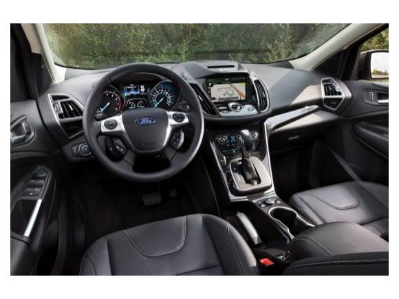 Ford Kuga 2012: primeras fotos del nuevo SUV compacto de Ford