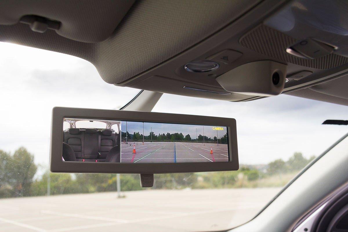 Ficosa presenta el retrovisor interior inteligente for Espejo retrovisor interior