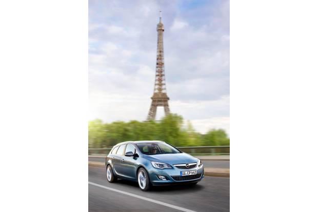 Opel presenta el nuevo Astra Sports Tourer en el Salón de París