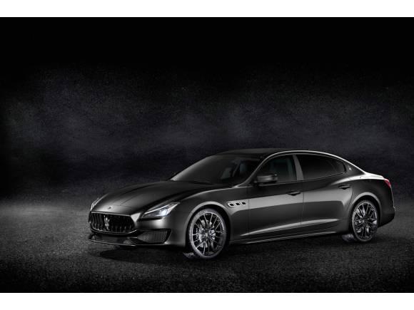 Maserati presenta su línea Nerissimo Edition para los Ghibli, Quattroporte y Levante