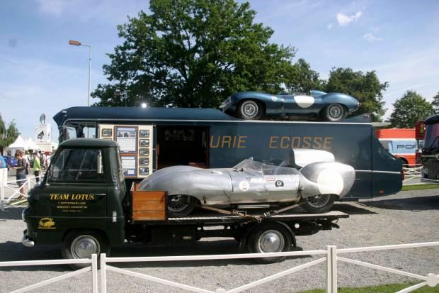 Legendarios transportes de competición