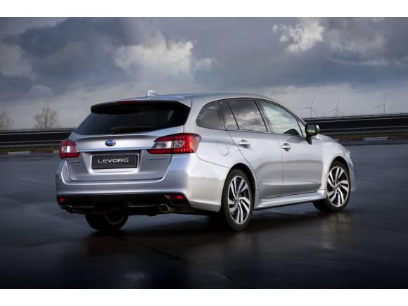 Nuevo Subaru Levorg: nuevo motor atmosférico y nueva versión ECO bi-fuel