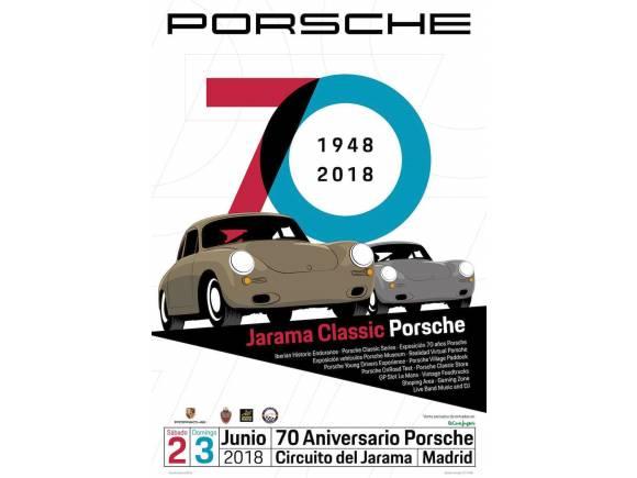 Jarama Classic Porsche, celebración del 70 aniversario