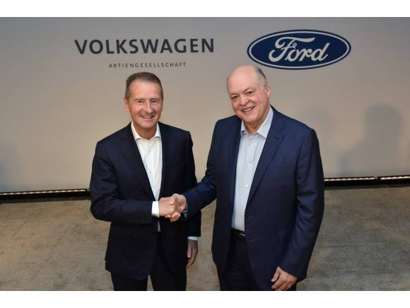 Ford y el Grupo Volkswagen se unen para crear vehículos en conjunto