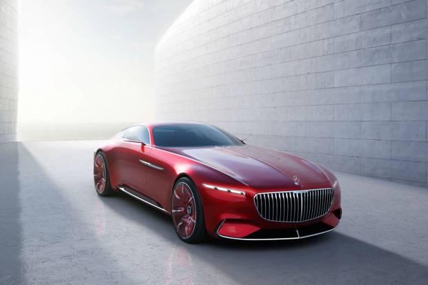 Vision Mercedes-Maybach 6: el lujo retro-futurista
