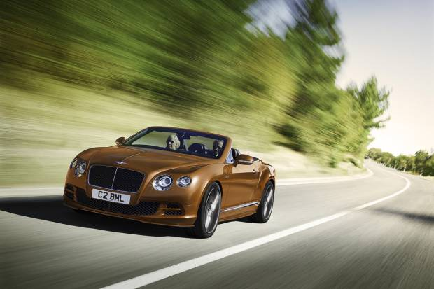 Mejoras para el Bentley Continental GT y Flying Spur en el Salón de Ginebra