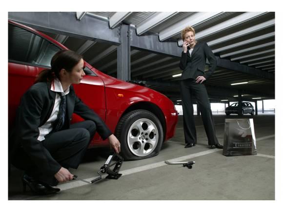 ¿Es seguro un neumático después de un pinchazo?