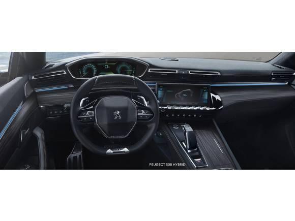 Peugeot 508 Hybrid, el híbrido enchufable con 54 kms de autonomía en modo eléctrico