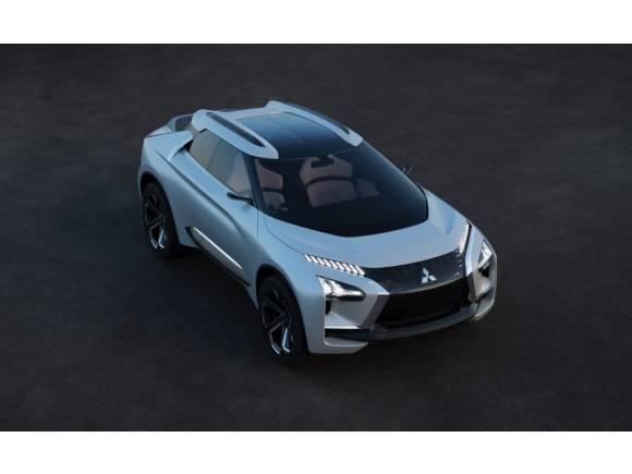 Mitsubishi e-Evolution Concept: un SUV eléctrico de altas prestaciones