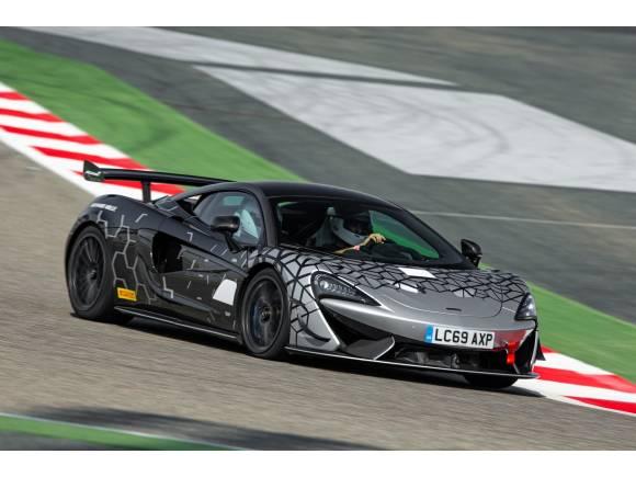 McLaren 620R: un coche de carreras matriculable