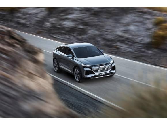 El Audi Q4 e-tron también tendrá carrocería coupé Sportback