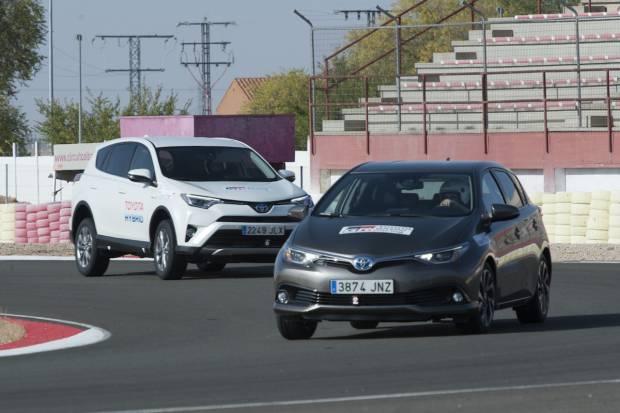 24 Horas con la gama híbrida de Toyota