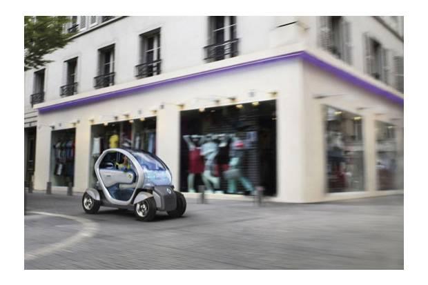 Renault Twizy: desplázate por la ciudad