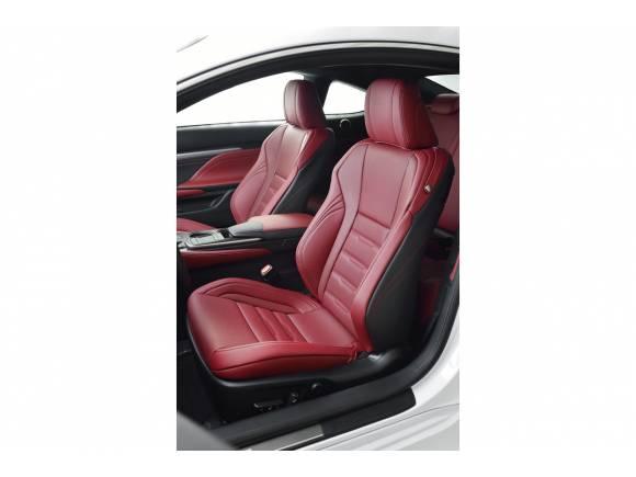 Lexus RC-F, el coupé deportivo de Lexus para competir con el BMW M4