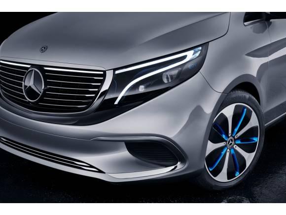 Primeros pasos de Mercedes para un monovolumen eléctrico: EQV