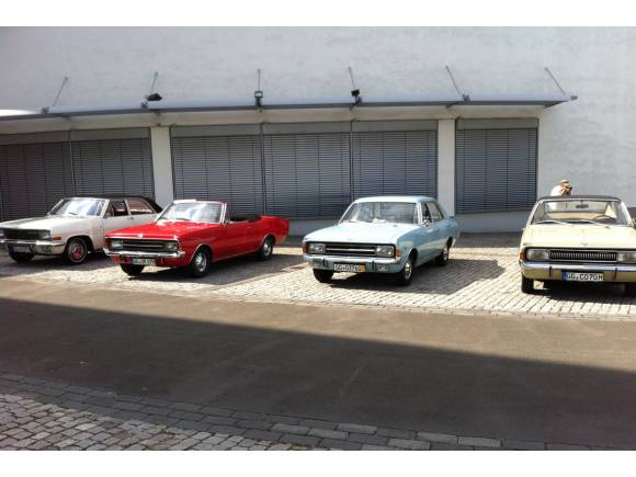 Prueba coches clásicos de Opel