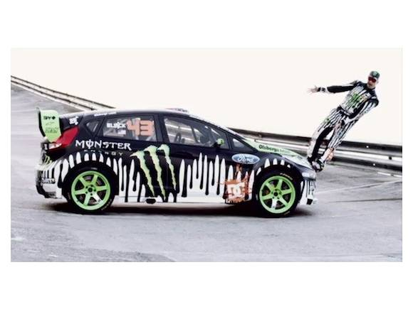 Vídeo: Ken Block y su Ford Fiesta
