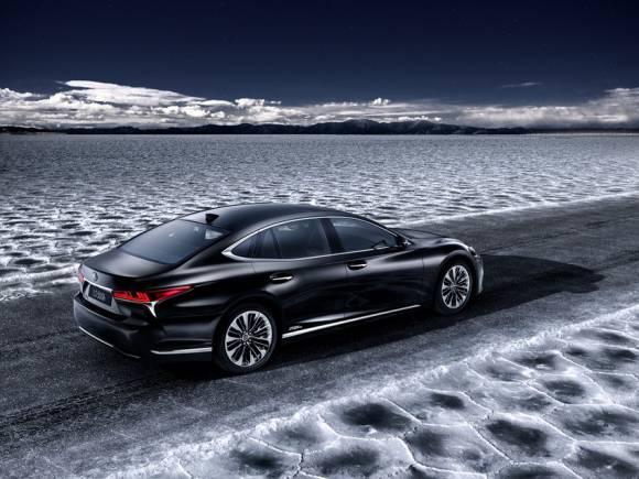 Lexus LS 500h 2018: la nueva berlina híbrida se presenta en Ginebra
