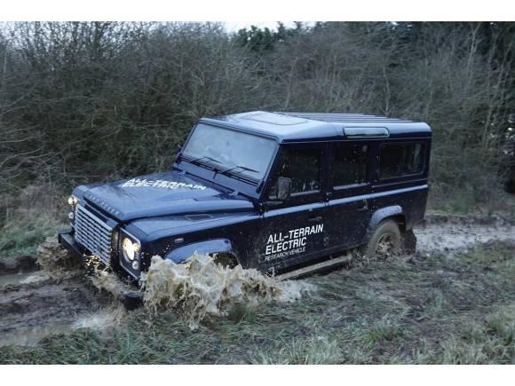 Land Rover Defender eléctrico en desarrollo