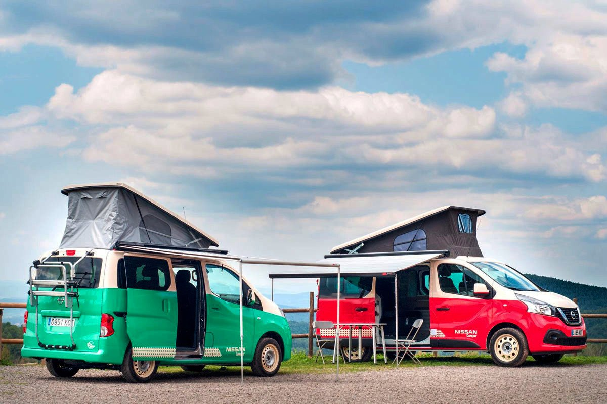 Nissan camper NV