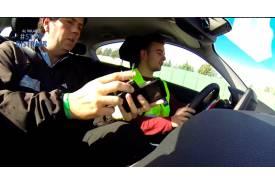 Vídeo: cómo los acompañantes pueden ocasionar un accidente
