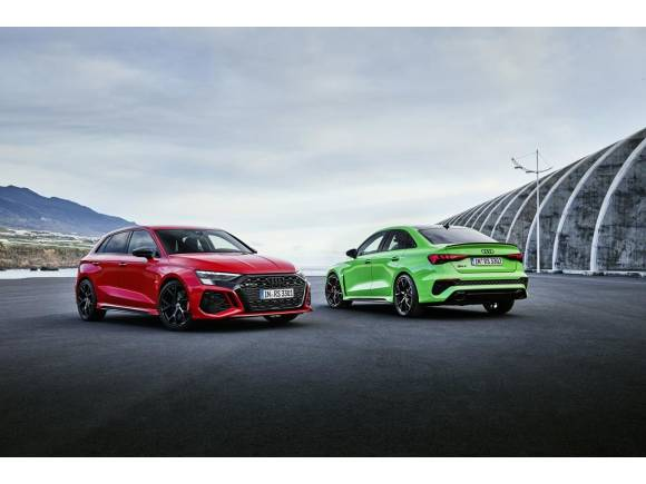Audi RS 3 Sportback y Sedan: deportividad a raudales