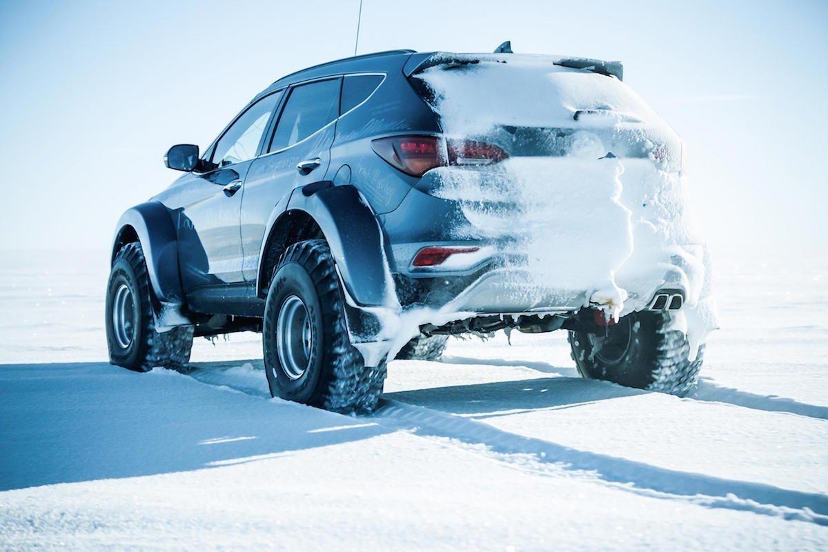 Hyundai Santa Fe Antartida