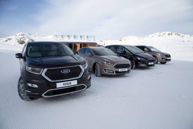 Programa de conducción invernal de Ford en Astún