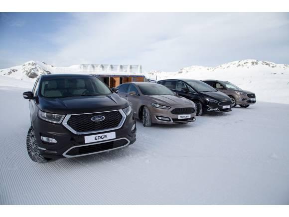 conduccion nieve ford astun