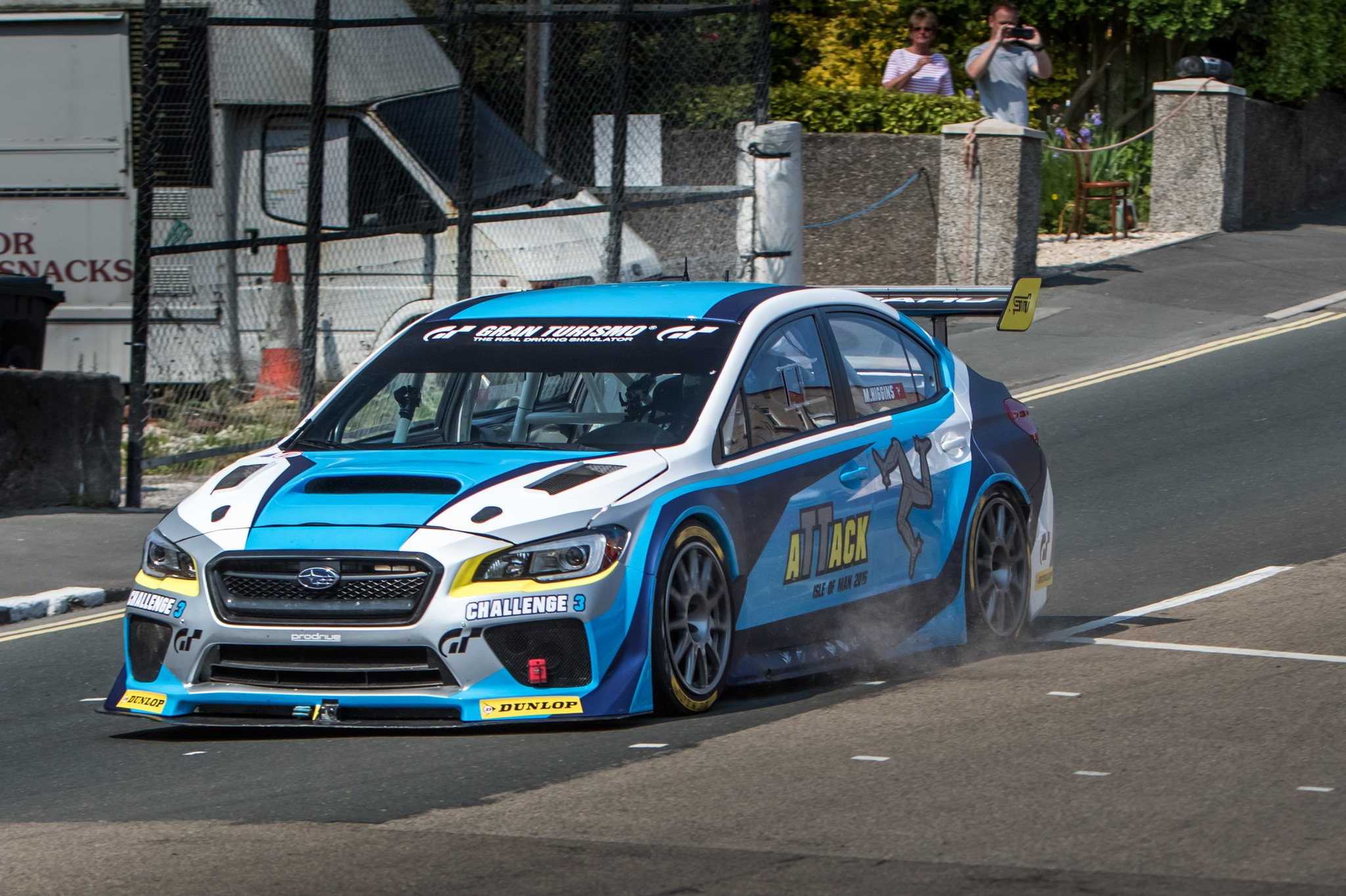 Subaru STI Isla de Man