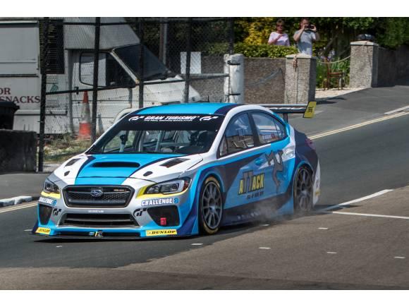 Subaru vuelve a batir el récord de la Isla de Man en coche
