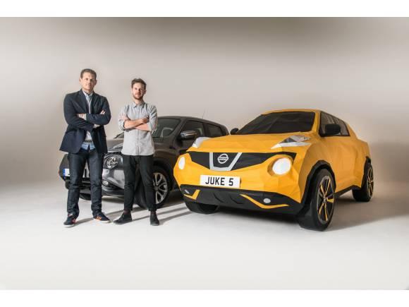 Vídeo: Nissan crea un Juke de papiroflexia por su quinto aniversario