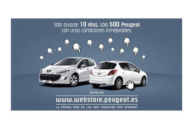 Peugeot lanza el servicio WebStore