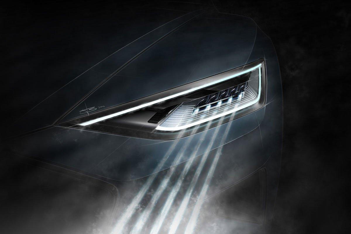Audi R8 luces láser