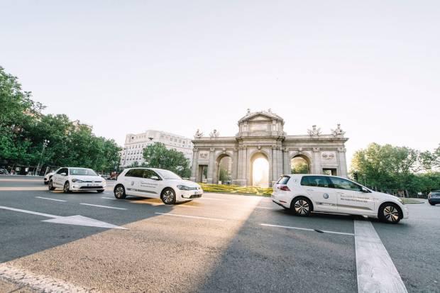 Prueba un Volkswagen e-Golf gratis en Madrid y Barcelona
